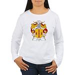 Crato Family Crest  Women's Long Sleeve T-Shirt