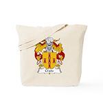 Crato Family Crest  Tote Bag