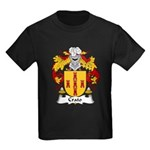 Crato Family Crest  Kids Dark T-Shirt