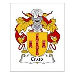 Crato Family Crest  Small Poster