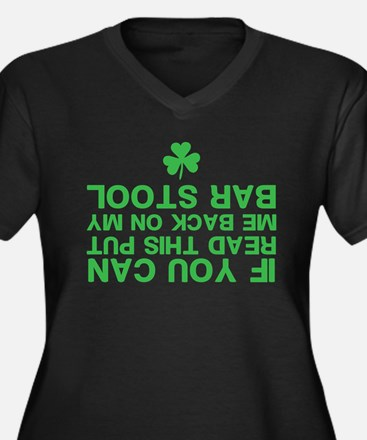 Funny St. Patricks Day Plus Size T-Shirt