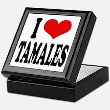 I Love Tamales Keepsake Box