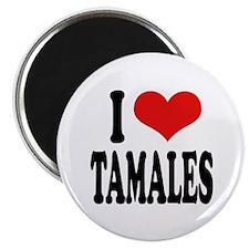 I Love Tamales Magnet