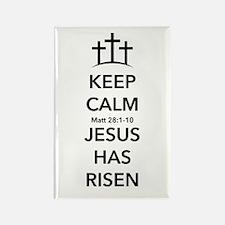 Risen Jesus Rectangle Magnet