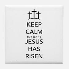 Risen Jesus Tile Coaster