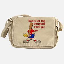 Ponytail Messenger Bag