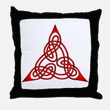 Celtic Knot 66 Throw Pillow