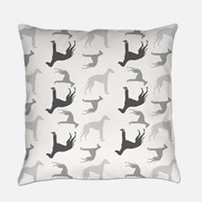Greyhounds Pattern Everyday Pillow