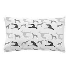 Greyhounds Pattern Pillow Case