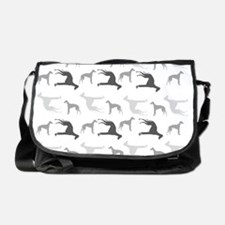 Greyhounds Pattern Messenger Bag