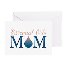 Essential oils Mom Greeting Card