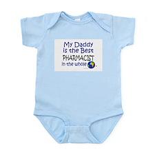Best Pharmacist In The World (Daddy) Infant Bodysu