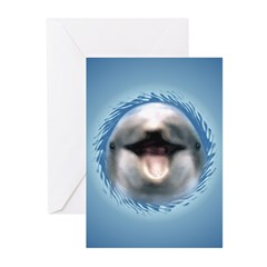 Smile Dolphin Greeting Cards (Pk of 20)