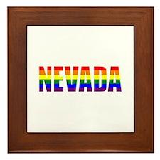 Nevada Pride Framed Tile
