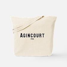 Agincourt Tote Bag