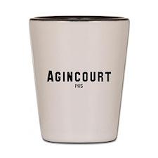 Agincourt Shot Glass