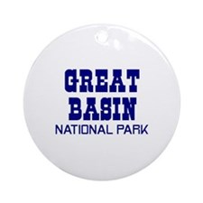 Great Basin National Park Ornament (Round)