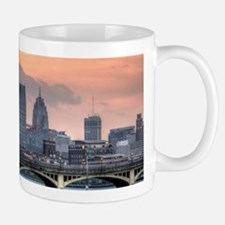 Detroit HDR Skyline II - Rotated Mugs