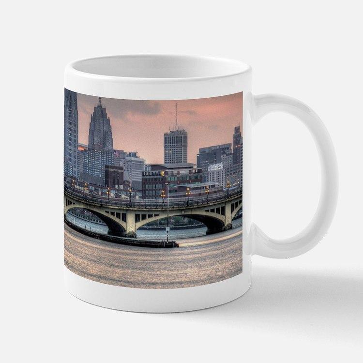 Detroit HDR Skyline II - Rotated Mugs