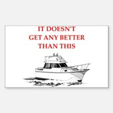 boating Decal