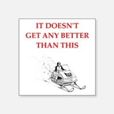 snowmobile Sticker