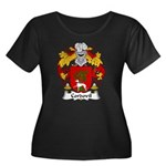 Cordovil Family Crest Women's Plus Size Scoop Neck