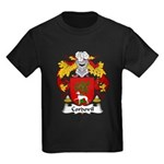 Cordovil Family Crest Kids Dark T-Shirt