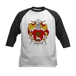 Cordovil Family Crest Kids Baseball Jersey