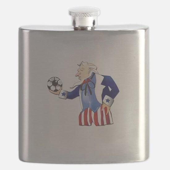 US Soccer Flask