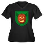 Stab Women's Plus Size V-Neck Dark T-Shirt