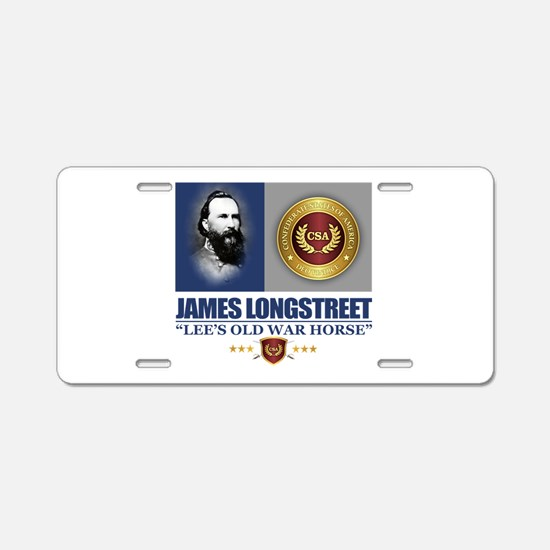 Longstreet C2 Aluminum License Plate