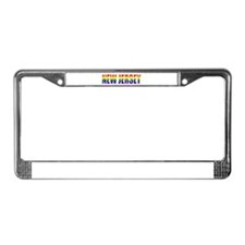 New Jersey License Plate Frame