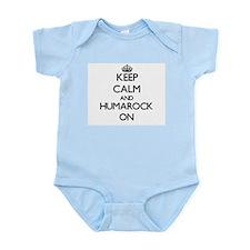 Keep calm and Humarock Massachusetts ON Body Suit