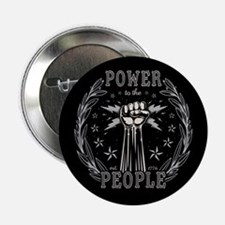 "Power to the People 0715 2.25"" Button"