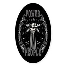 Power to the People 0715 Decal