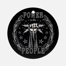 Power to the People 0715 Ornament (Round)