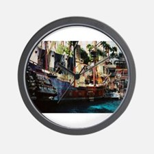 Treasure Island Ship Las Vegas Wall Clock