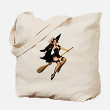HIGH FLYING WITCH Tote Bag