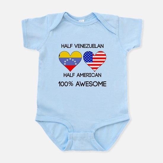 Half Venezuelan Half American Body Suit