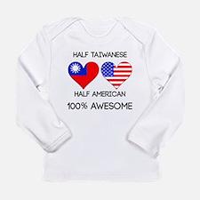Half Taiwanese Half American Long Sleeve T-Shirt
