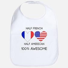 Half French Half American Bib
