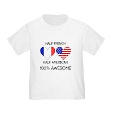 Half French Half American T-Shirt