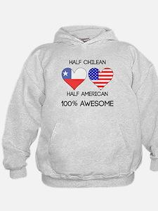 Half Chilean Half American Hoodie