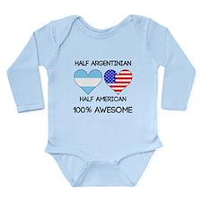 Half Argentinian Half American Body Suit
