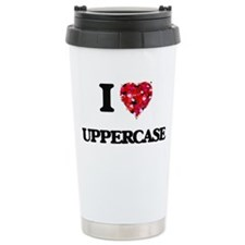 I love Uppercase Travel Mug