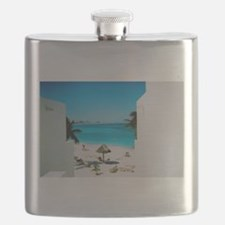 Tropical View Flask
