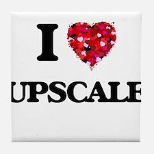I love Upscale Tile Coaster