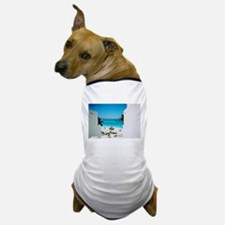 Tropical View Dog T-Shirt