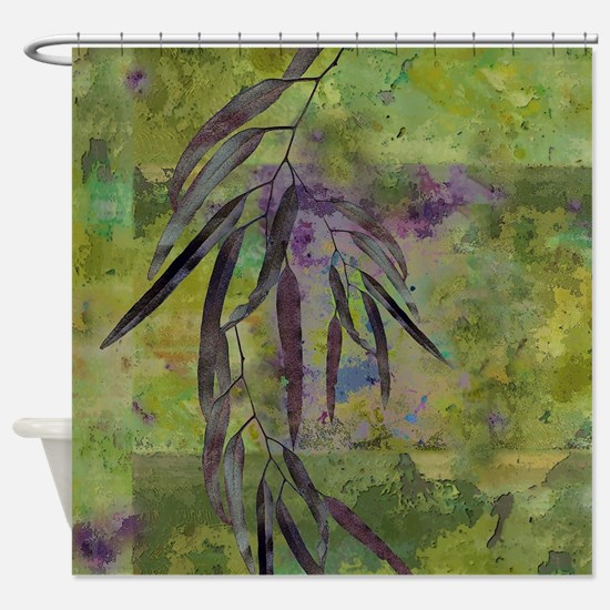 Cute Olive Shower Curtain