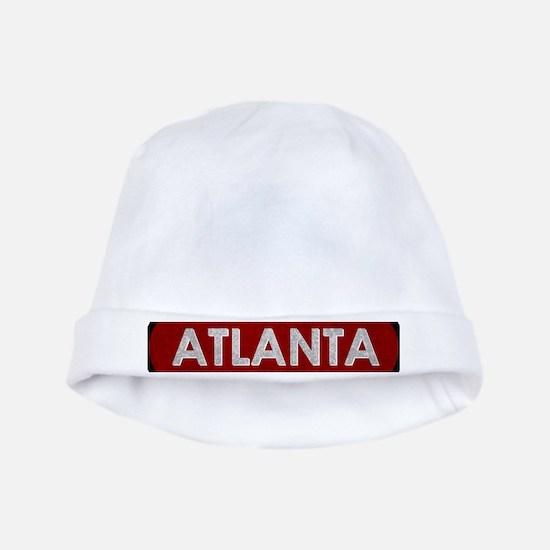ATLANTA Red Stone baby hat